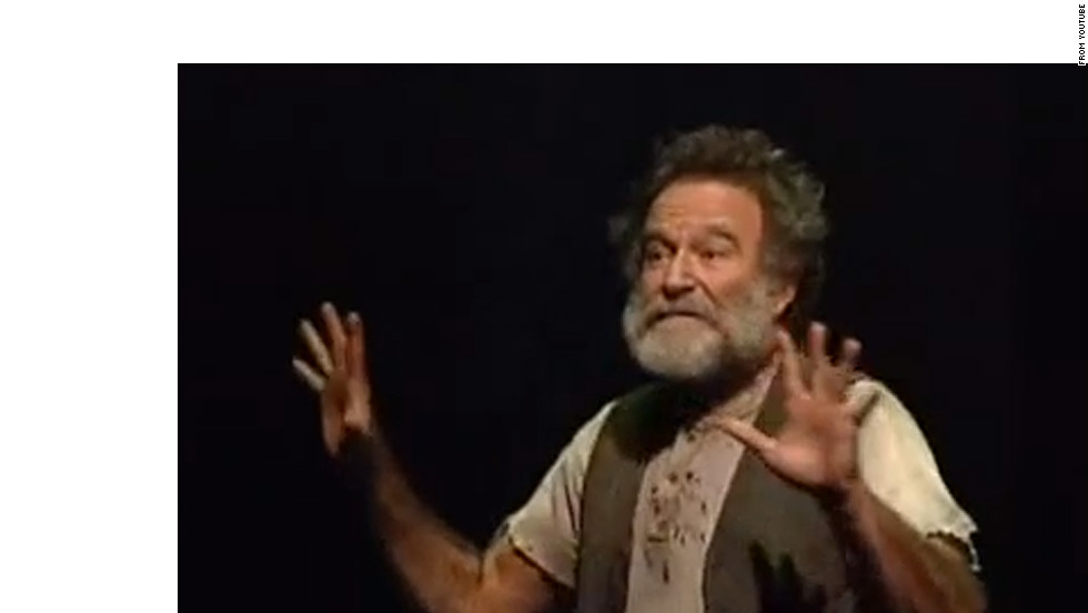 "Robin Williams plays the title role in Rajiv Joseph's ""Bengal Tiger at the Baghdad Zoo."" The play, which takes place in Baghdad, opened in March 2011."