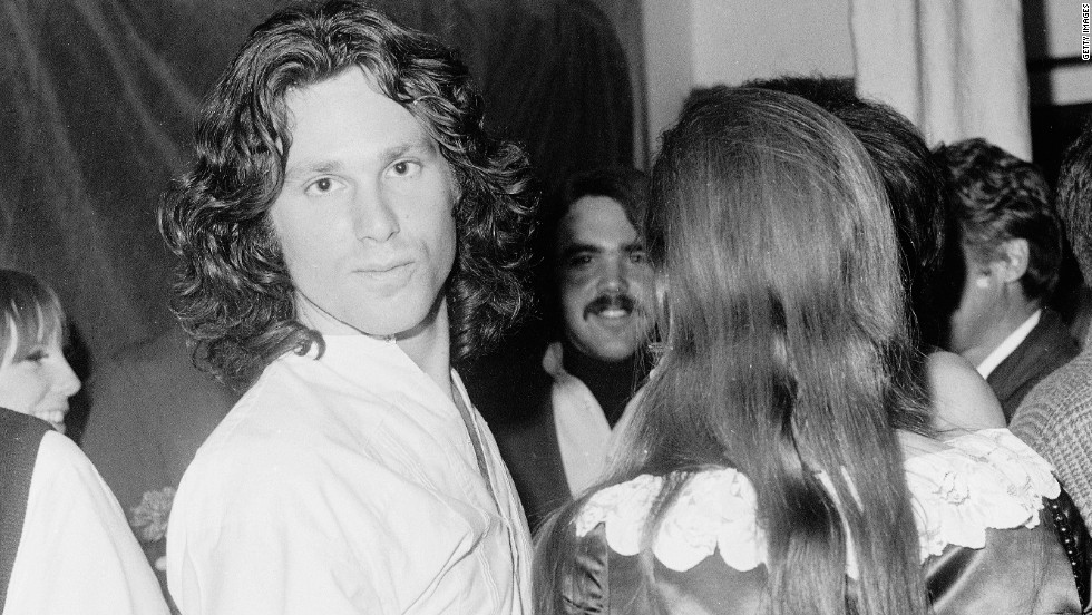 The Doors' lead singer Jim Morrison died in 1971. He is another one of the many rockers who died at 27.