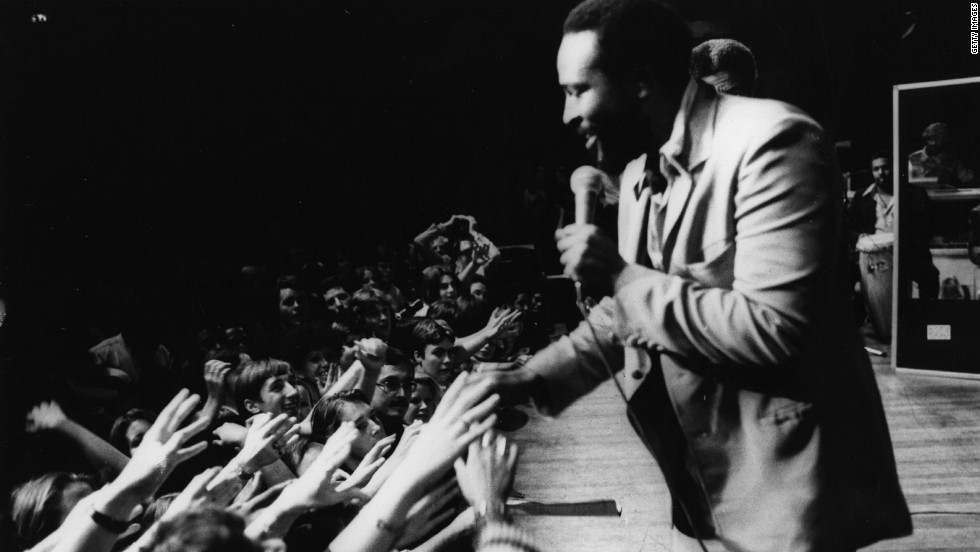 There ain't no mountain high enough to keep us from seeing Marvin Gaye's hologram perform. The Motown legend died in 1984. He was 44.
