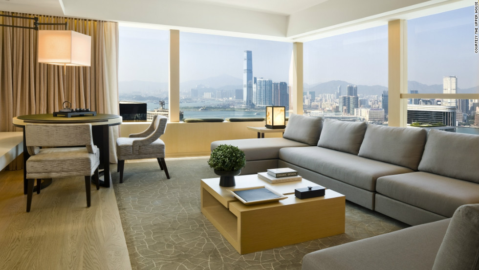"The Upper House, in Hong Kong, adopts a ""paperless"" approach to check-in, and offers guests wireless internet connectivity from the moment they step inside the car that brings them from the airport."