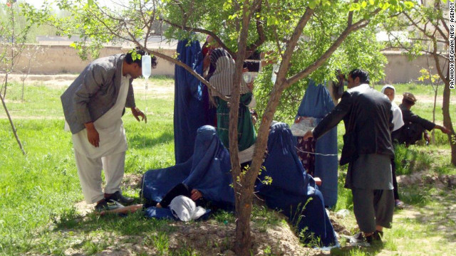 Afghan girls poisoned at school