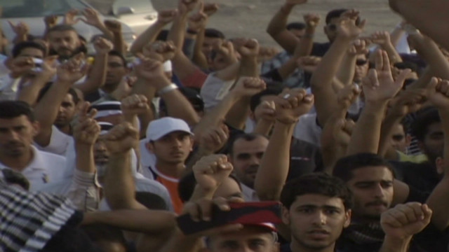 Violent clashes ahead of Bahrain race