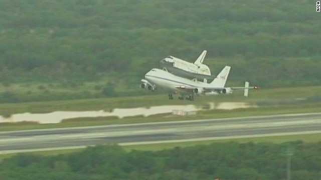Discovery begins its final flight