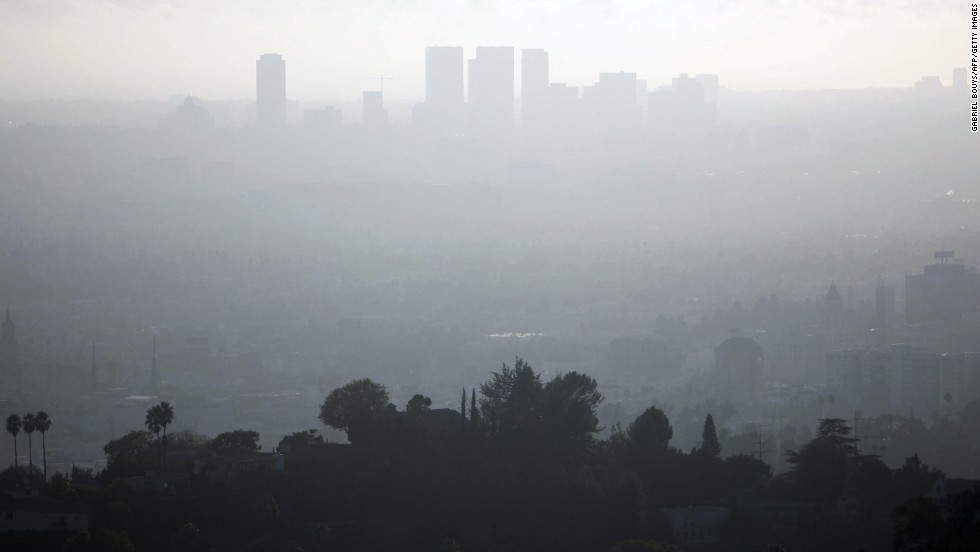 Los Angeles has the highest levels of ozone pollution of any U.S. city, according to 2012 rankings by the American Lung Association. Exposure to urban air pollutants can increase the risk of cardiovascular diseases and cancer as well as trigger asthma attack, according to the World Health Organisation.