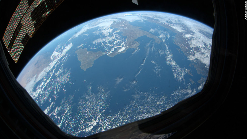 Italian astronaut, Paolo Nespoli captured a series of remarkable images of Earth during a six-month stay on the International Space Station.