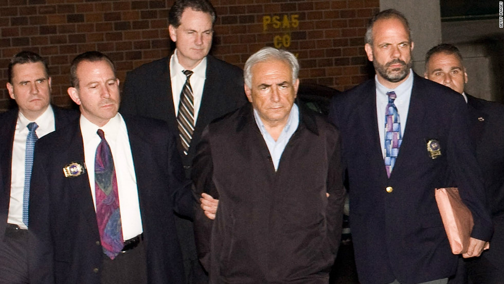 Parading of Dominique Strauss-Kahn after his arrest in New York last year divided opinion back in France.
