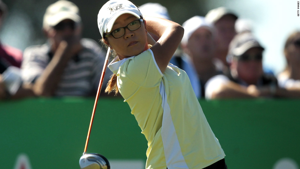 Li will have to progress fast to match the achievements of world number three Lydia Ko. She was just 14 when she triumphed at the the New South Wales Open in January 2012, becoming the youngest player to win a professional tournament.