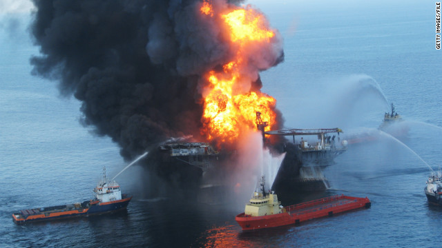 2010: First 100 days of BP oil disaster