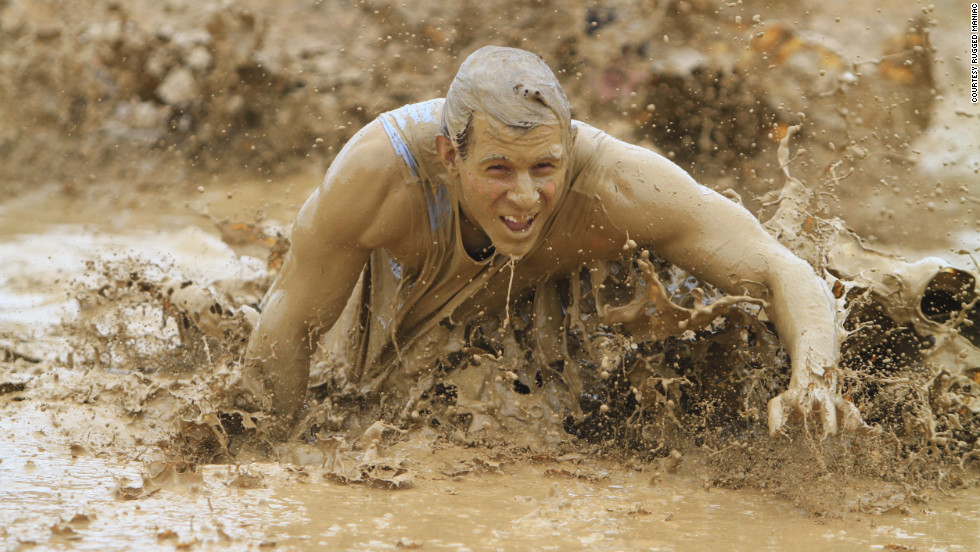 "Who doesn't want to crawl through mud on their way to the finish line? Other obstacles for the Rugged Maniac include a 12-foot-high wall and a 50-foot water slide. At least the slide would be easy. <br /><br />If this looks like fun, you can also check out your local <a href=""http://www.warriordash.com/"" target=""_blank"">Warrior Dash</a>, <a href=""http://toughmudder.com/"" target=""_blank"">Tough Mudder</a> or <a href=""http://www.spartanrace.com/"" target=""_blank"">Spartan Race</a>."