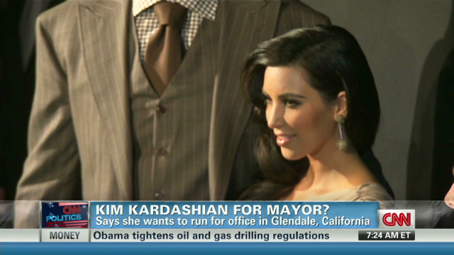 Get Real! Kim Kardashian for mayor?