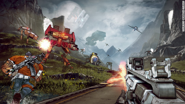 "Gearbox producer Randy Varnell says ""Borderlands 2"" is significantly larger, broader and deeper than its predecessor."