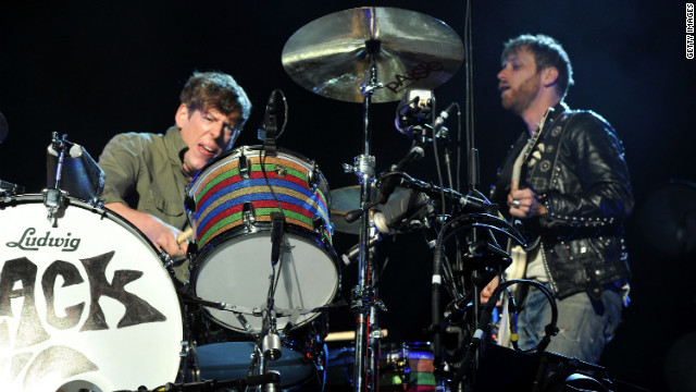 The Black Keys, shown here performing during the 2012 Coachella Valley Music & Arts Festival.
