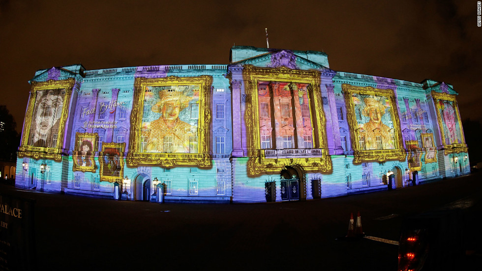 Buckingham Palace will get a colorful facelift for three nights in April thanks to Face Britain, a project from The Prince's Foundation for Children & the Arts.
