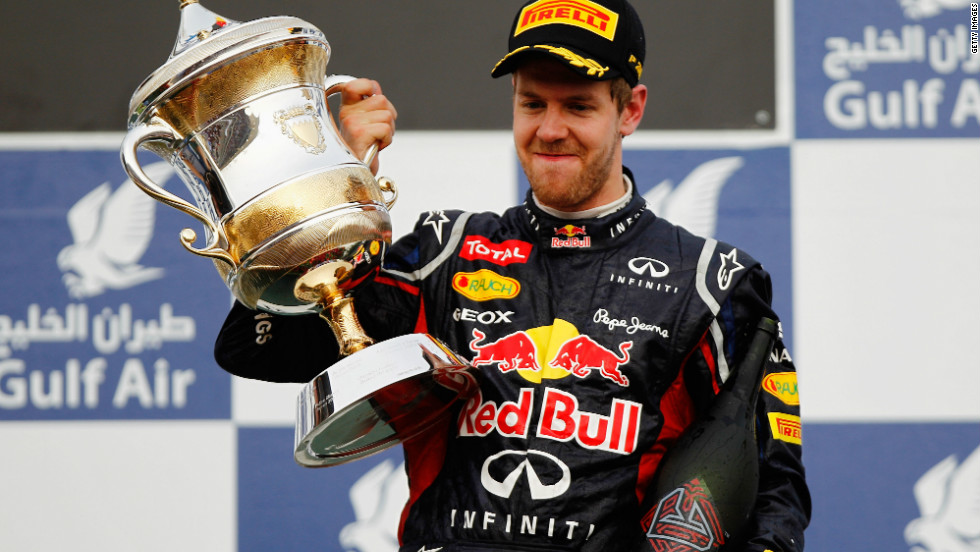 World champion Sebastian Vettel won 11 races last year, but his only victory for Red Bull so far this season was at the fourth Grand Prix in Bahrain in April.