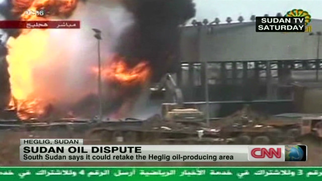 Sudan oil dispute