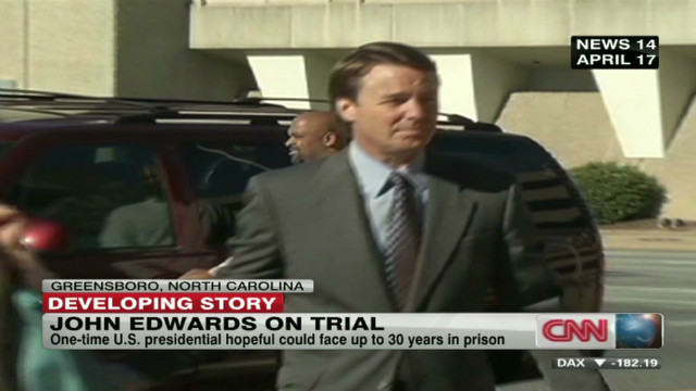 John Edwards criminal trial begins