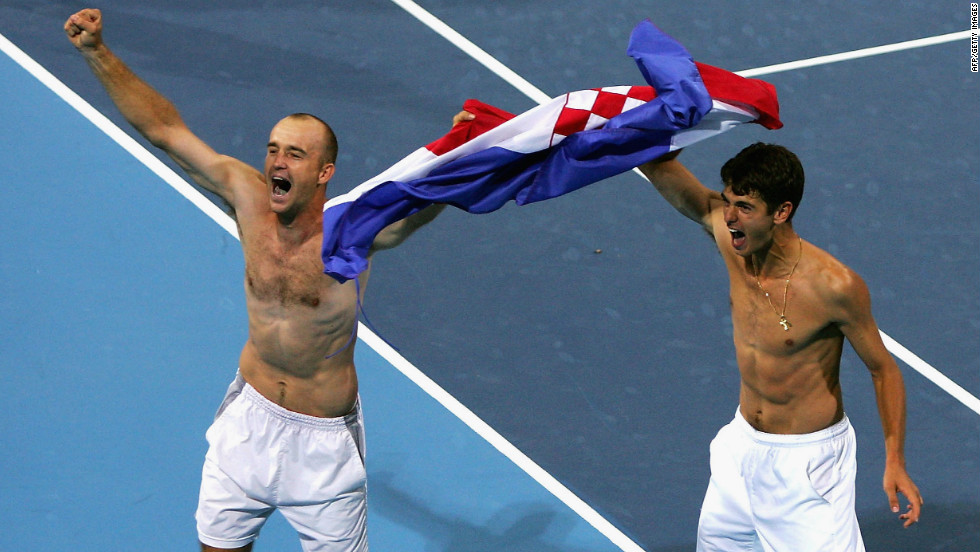 One of Ljubicic's finest moments on a tennis court came when he and Ancic secured a bronze medal for Croatia at the 2004 Athens Olympics in the men's doubles.