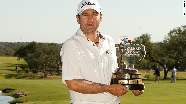Ben Curtis ended a win drought that had lasted 2,045 days after securing the Valero Texas Open title