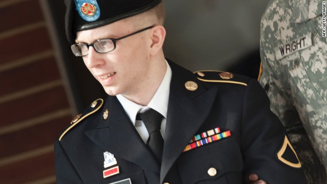 Pfc. Bradley Manning is suspected of leaking hundreds of thousands of classified documents