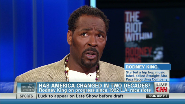 Rodney King on getting beyond race