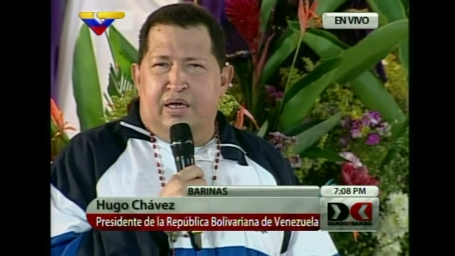 Chavez quells rumors about death