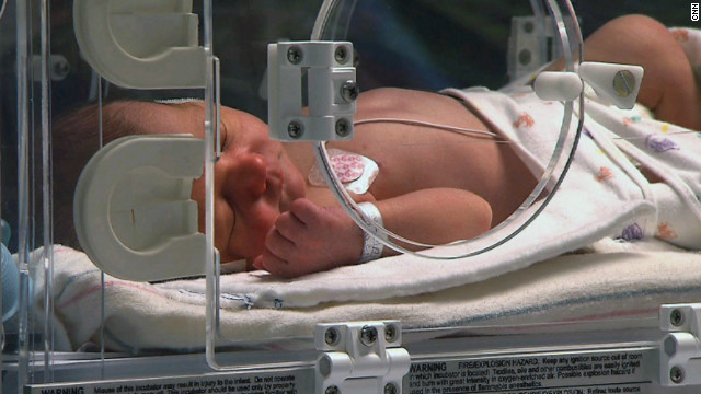 Newborns battle drug withdrawal