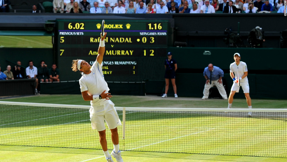 "Rafael Nadal ruined Britain's hopes of a home finalist after defeating Andy Murray in the 2011 semis. Both were part of the ""Big Four"" who helped secure pay increases. Semifinalists will now take home £287,500 ($463,336) -- up 4.5%."