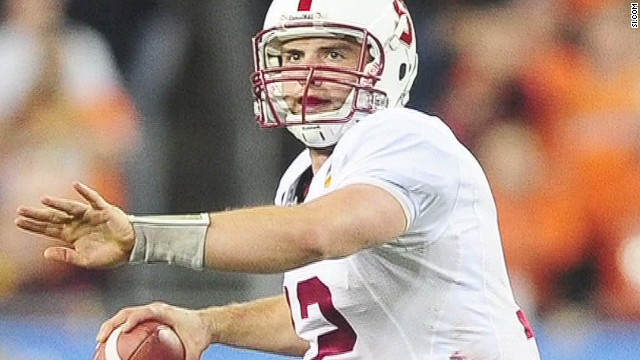 Stanford quarterback Andrew Luck will be the Number 1 overall pick in the 2012 NFL draft