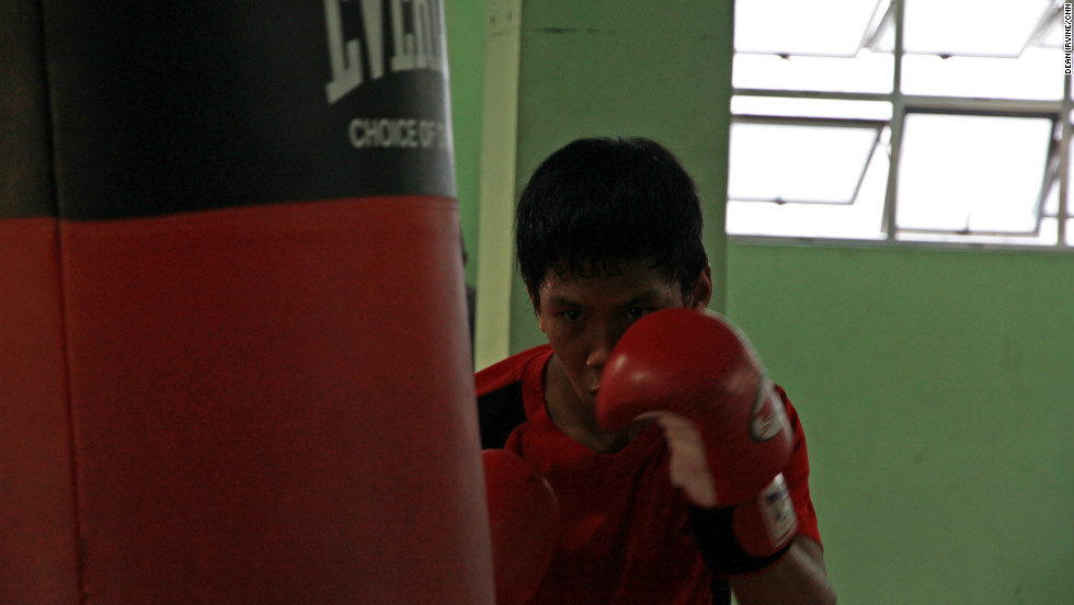 Sixteen-year-old Eumir Marcial is currently one of great prospects of Philippine amateur boxing.