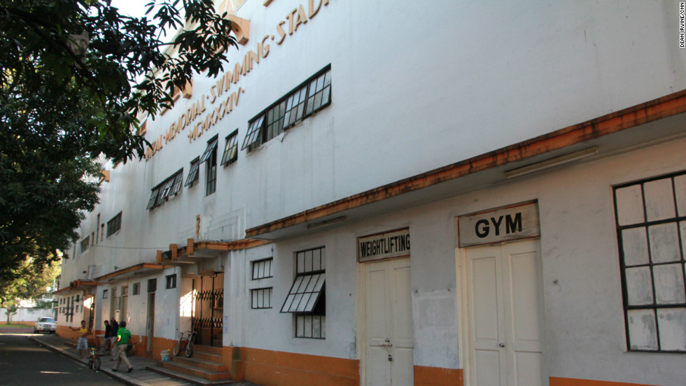 The Rizal Memorial Sports Complex in Manila was built in the 1930s and is where the 48 boxers, 36 men and 12 women, of the Philippine amateur boxing team train.