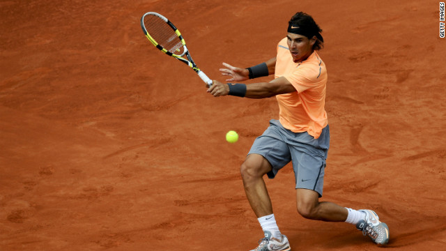 Rafael Nadal stormed into the second round of the Barcelona Open
