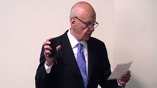 Hear what Rupert Murdoch told the inquiry