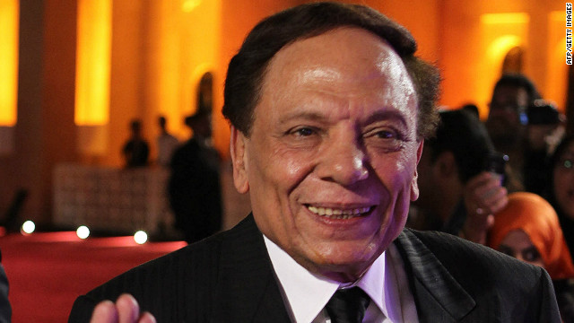 Egyptian comic actor Adel Imam at the 2010 Doha Tribeca Film Festival.