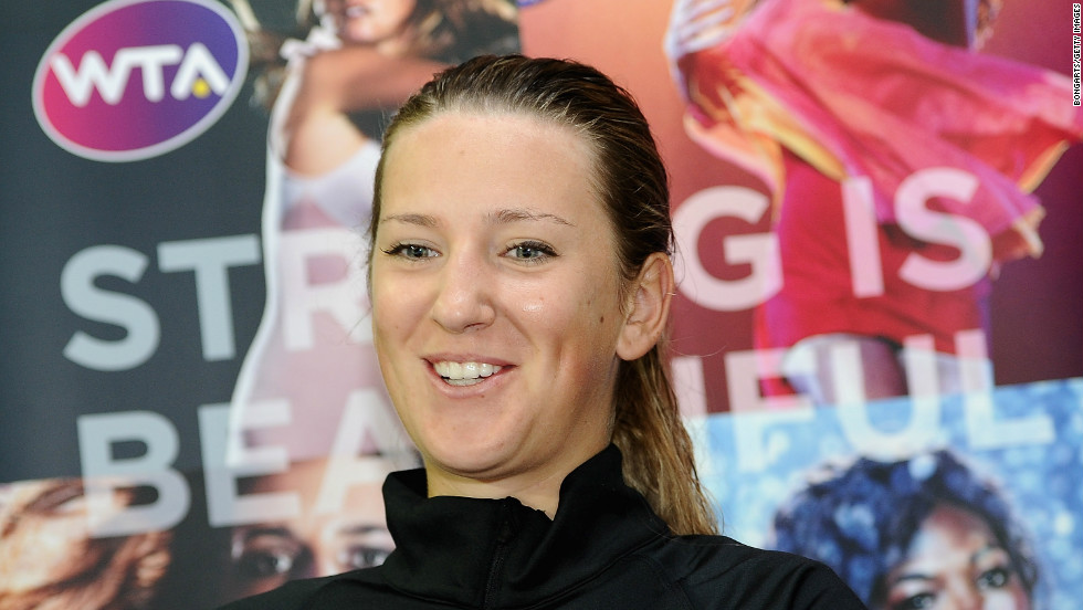 World No. 1 Victoria Azarenka has come a long way since first picking up a tennis racket in her native Belarus.