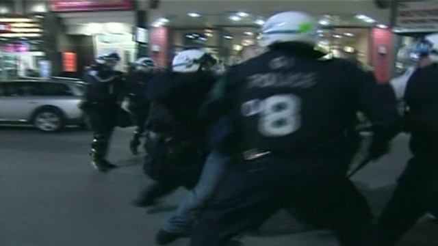 Montreal students riot over tuition hike