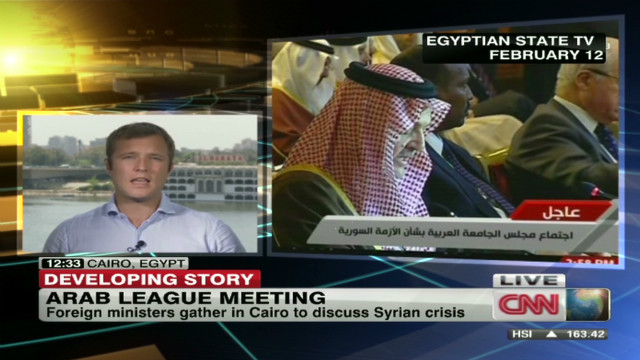 Emergency meeting in Cairo over Syria