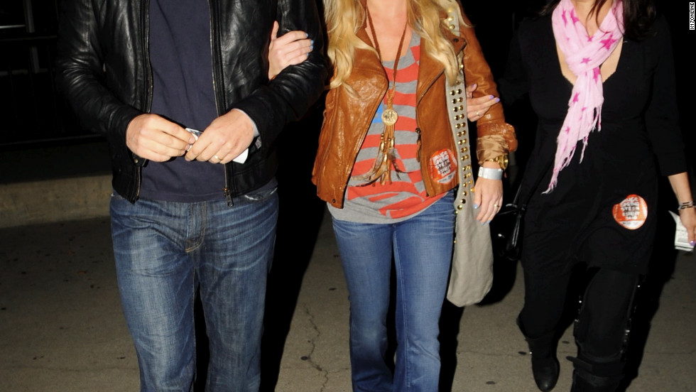 David Boreanaz and Jamie Bergman attend a Bruce Springsteen concert in Los Angeles.