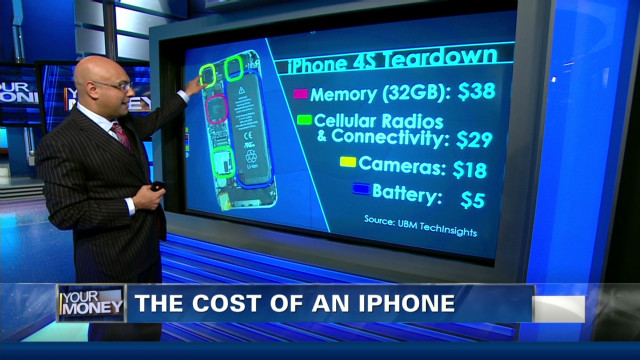 The true cost of an iPhone
