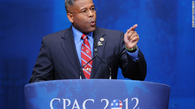 Florida Republican Rep. Allen West has become known for his blunt style in making a point.