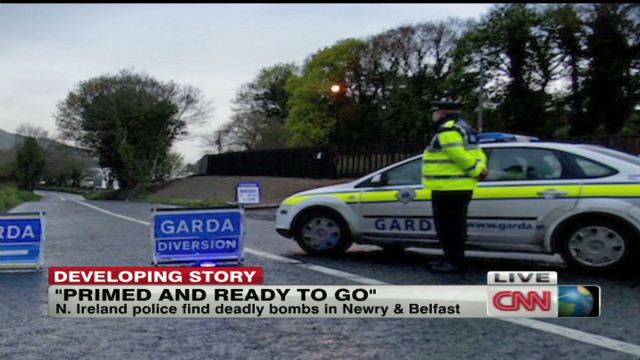 N. Ireland police find unexploded bomb