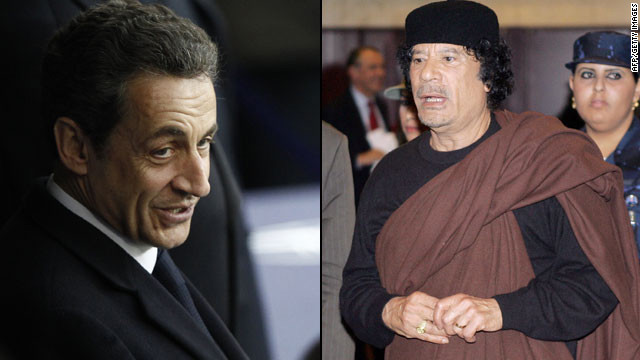 A document from 2006 allegedly showed that an official of Gadhafi's regime arranged to pay Sarkozy through an intermediary.