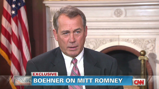 Boehner: Romney is a very likeable person