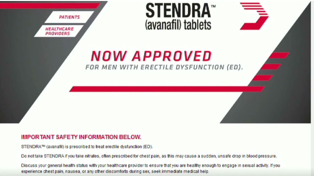 End of patent for viagra