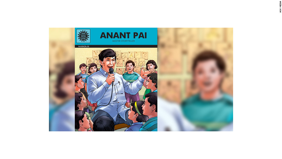 "To mark the first death anniversary of Anant Pai, ACK Media released a 32-page comic book titled ""Anant Pai -- Master Storyteller."" The comic is a tribute to the Amar Chitra Katha creator and is an illustrated biography."