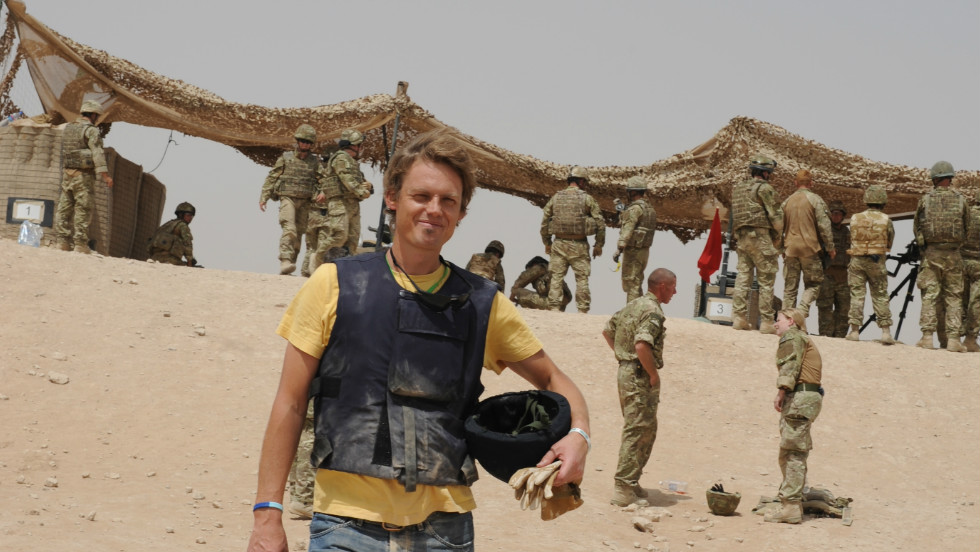 Mark de Rond, from the University of Cambridge's Judge Business School, spent six weeks studying military surgeons at Camp Bastion in Afghanistan.