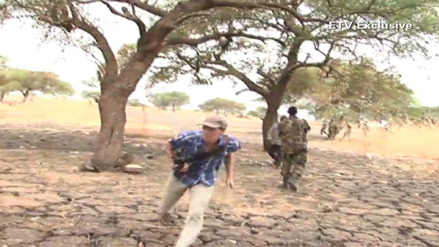 ETV reporter caught in South Sudan fight