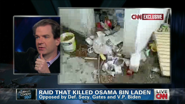 Exclusive access to bin Laden's compound