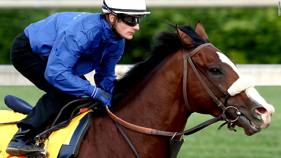 Union Rags, ridden by jockey Julien Laparoux, is among the hot favorites to win the 138th Kentucky Derby at Churchill Downs.