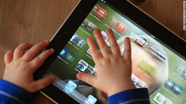 Lawmakers in Taiwan have outlawed iPads and other electronic gadgets for children under the age of two.