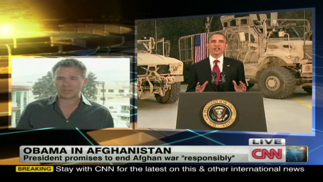 Obama vows to end Afghan war